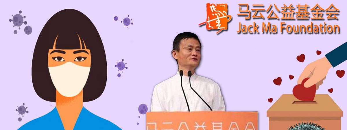Jack Ma will help to Corona Affected Asian countries