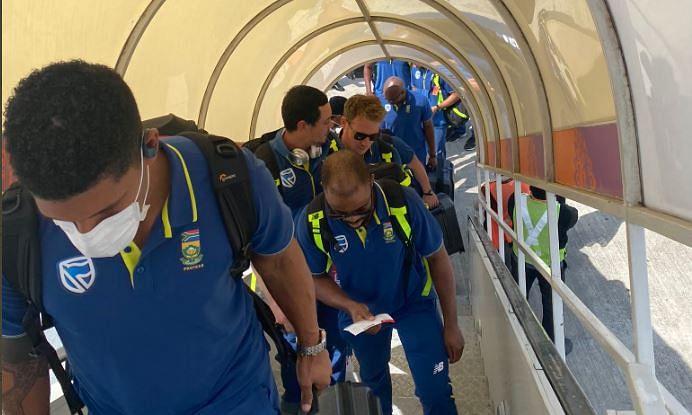 अफ्रीकी खिलाड़ियों का कोरोना टेस्ट आया नेगेटिव,भारत से लौटी थी टीम