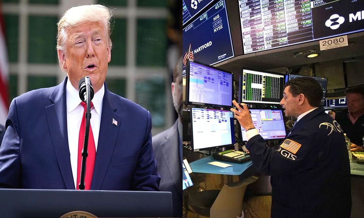 इमरजेंसी के ऐलान के बाद अमेरिकी शेयर बाजार में दर्ज की गई बढ़त