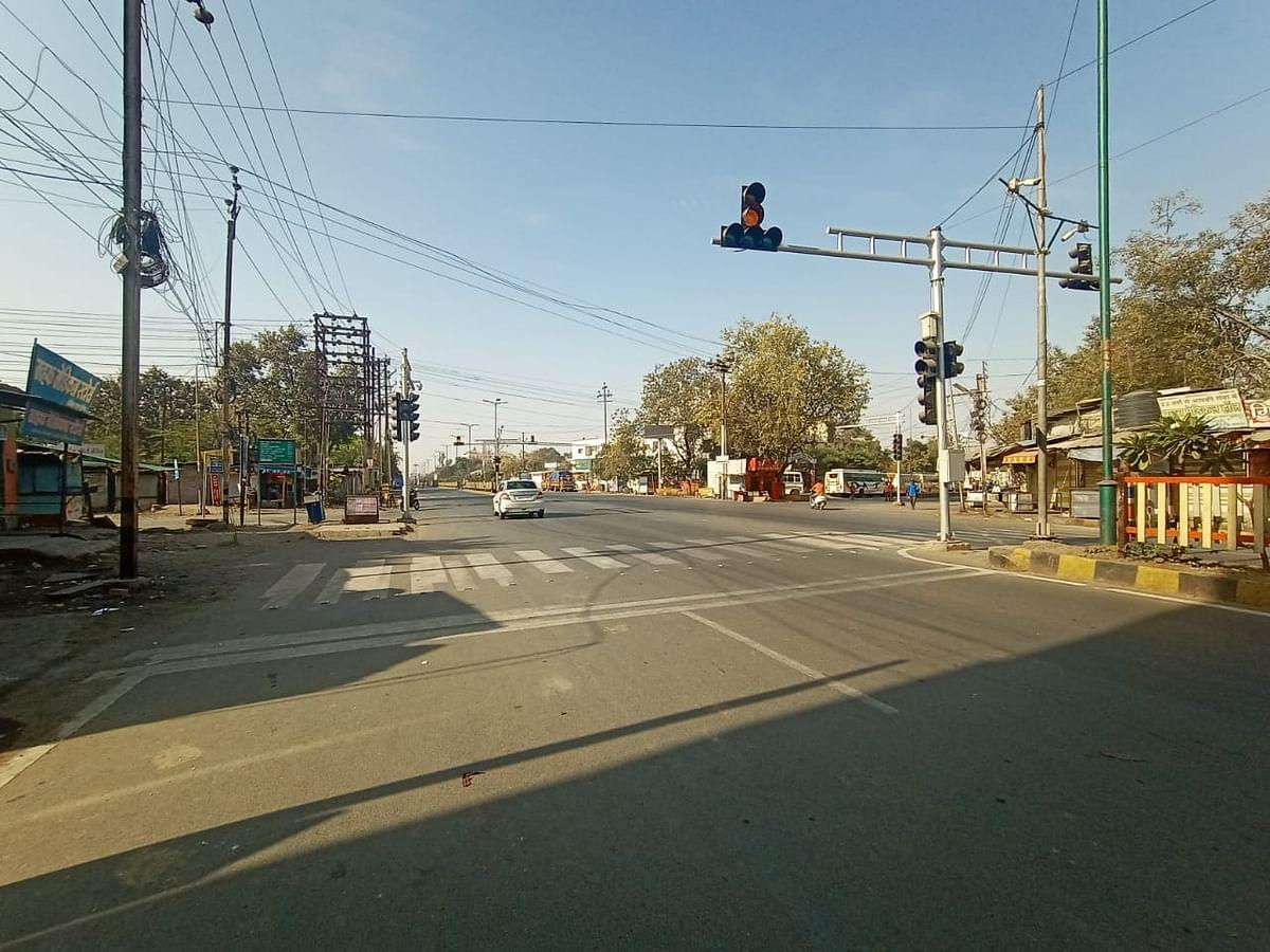 इंदौर में जनता कर्फ्यू का असर