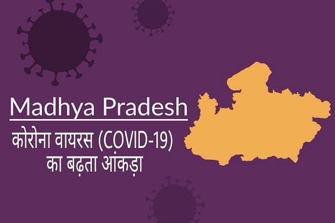 मध्यप्रदेश में लगातार बढ़ता कोरोना वायरस का आंकड़ा