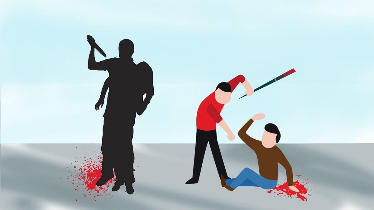 भोपाल : पिता से मारपीट, बचाने आये पुत्र को चाकुओं से गोदा, आरोपी फरार