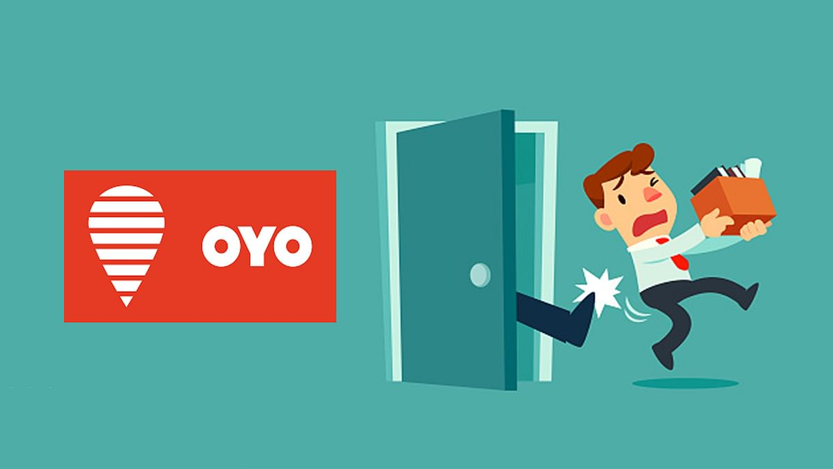 OYO ने एक बार फिर कर्मचारियों को दिखाया बाहर का दरवाजा