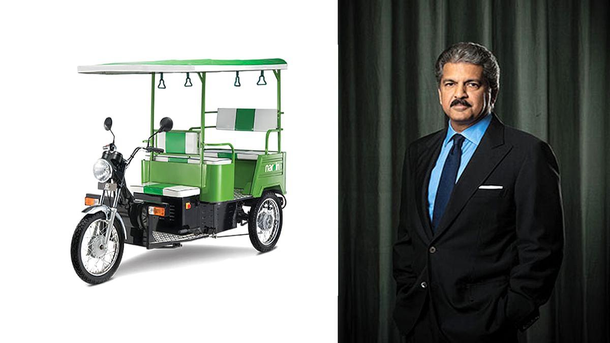 ई-रिक्शा चालक से प्रभावित आनंद महिंद्रा ने की बड़े ऑफर की पेशकश