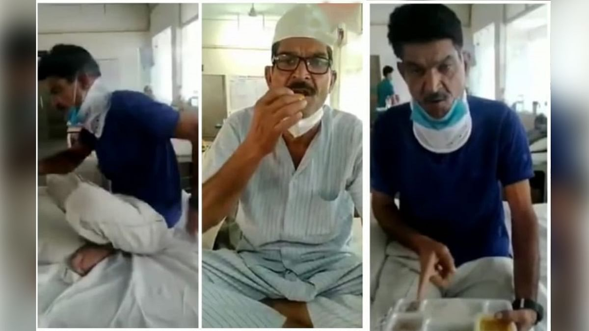 मरीज ने कीं हदें पार, हॉस्पिटल में शाही खाने की मांग का वीडियो वायरल