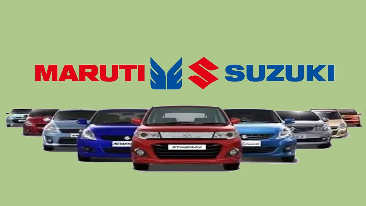Maruti Suzuki sales figures