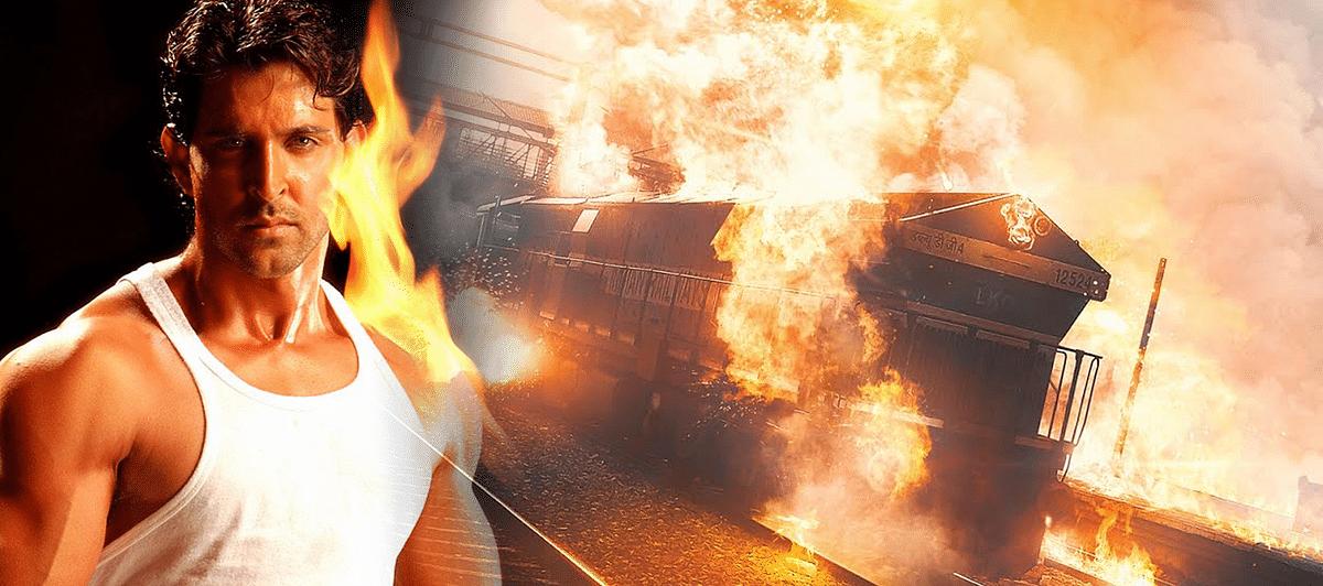 'द बर्निंग ट्रेन' के रीमेक की तैयारी, ऋतिक रोशन आएंगे नजर