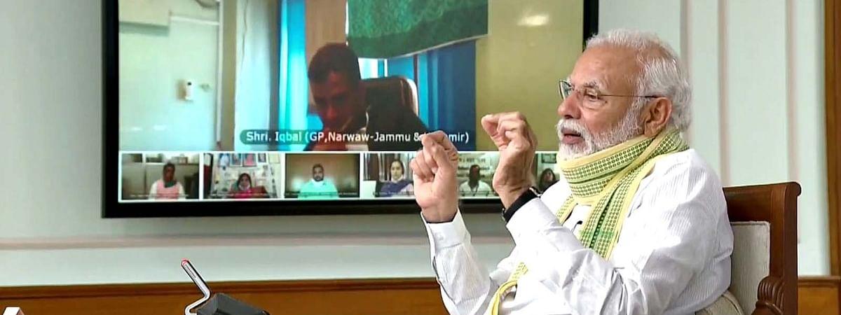 पंचायती राज दिवस पर PM मोदी का सरपंचों से संवाद-दिया ये खास संदेश