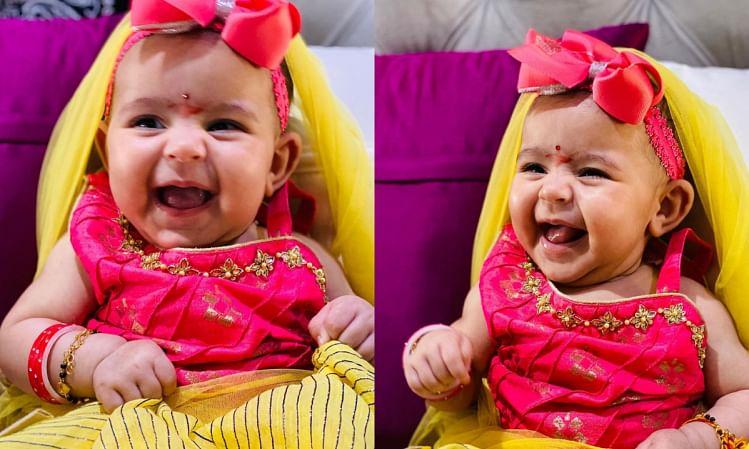 अष्टमी के दिन कपिल शर्मा ने किया बेटी का कन्या पूजन,शेयर की तस्वीर