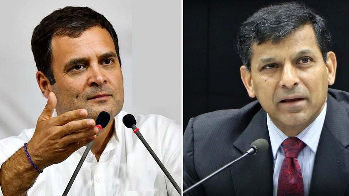 रघुराम राजन से बाेले राहुल-देश में पंचायती राज व्यवस्था कमजोर