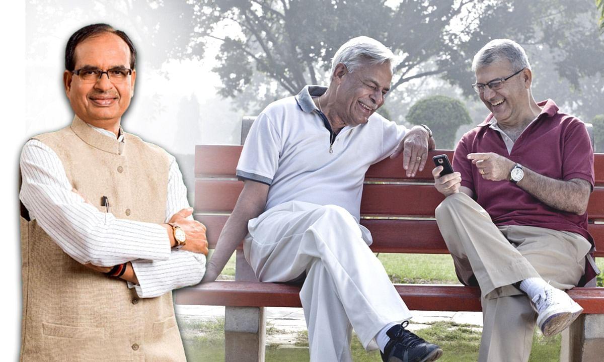 वृद्धों को मिला CM का सहारा, कोरोना विभीषिका के बीच पाई पेंशन राशि