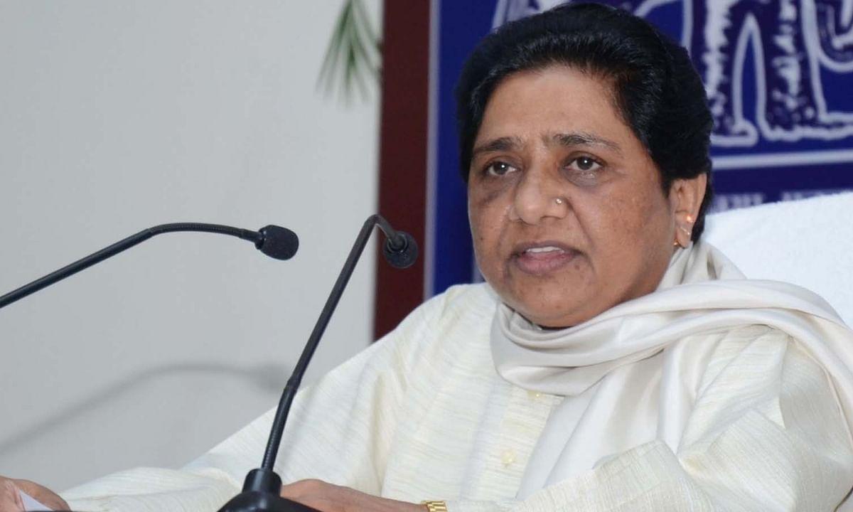 राजस्थान में राष्ट्रपति शासन लगाने की सिफारिश करनी चाहिए: मायावती