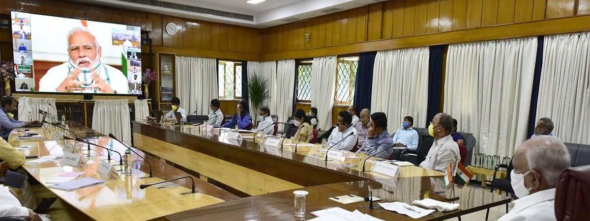 CM संग PM मोदी का संवाद