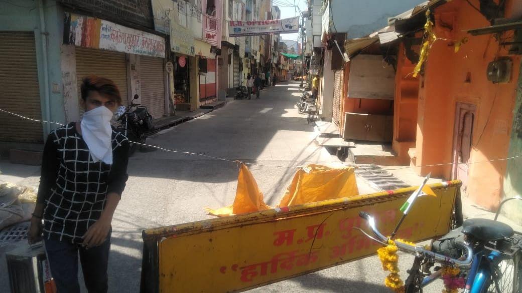 खाचरौद प्रशासन ने लगाया कर्फ्यू