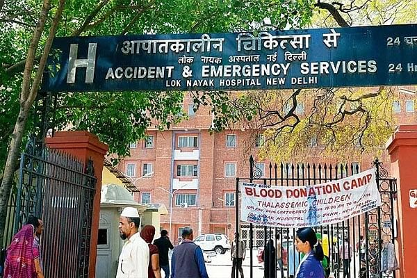 दिल्ली: जमातियों ने डॉक्टरों से किया अभद्र व्यवहार और मारपी
