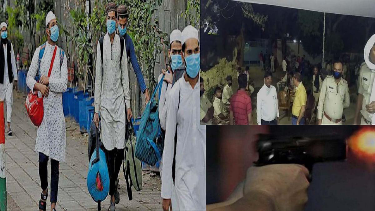 बिहार : मस्जिद में जांच करने पहुंची पुलिस पर फायरिंग समेत पथराव