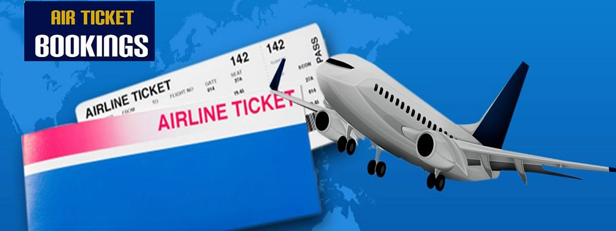 Government and Private airline companies started booking