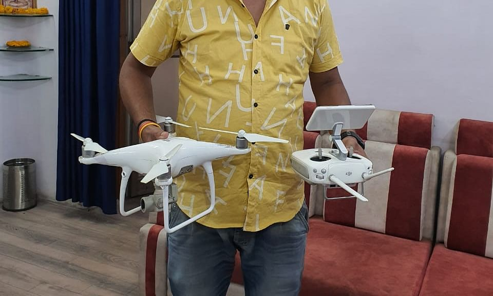 भोपाल पुलिस की अनोखी पहल, स्लम एरिया में ड्रोन से निगरानी