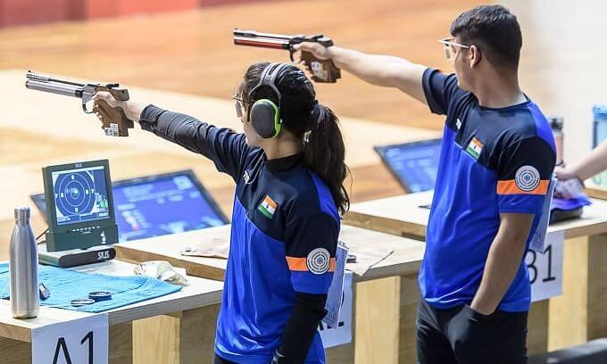 पहली ऑनलाइन निशानेबाजी चैम्पियनशिप में भारत का जौहर