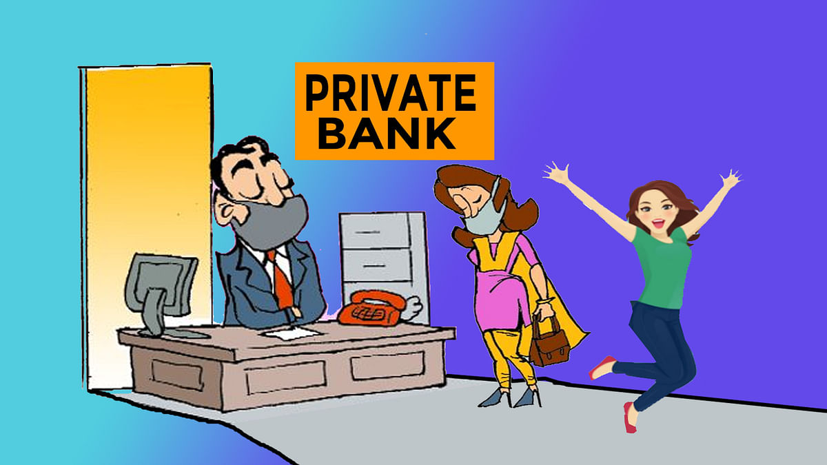 Private banks will give relief in EMI