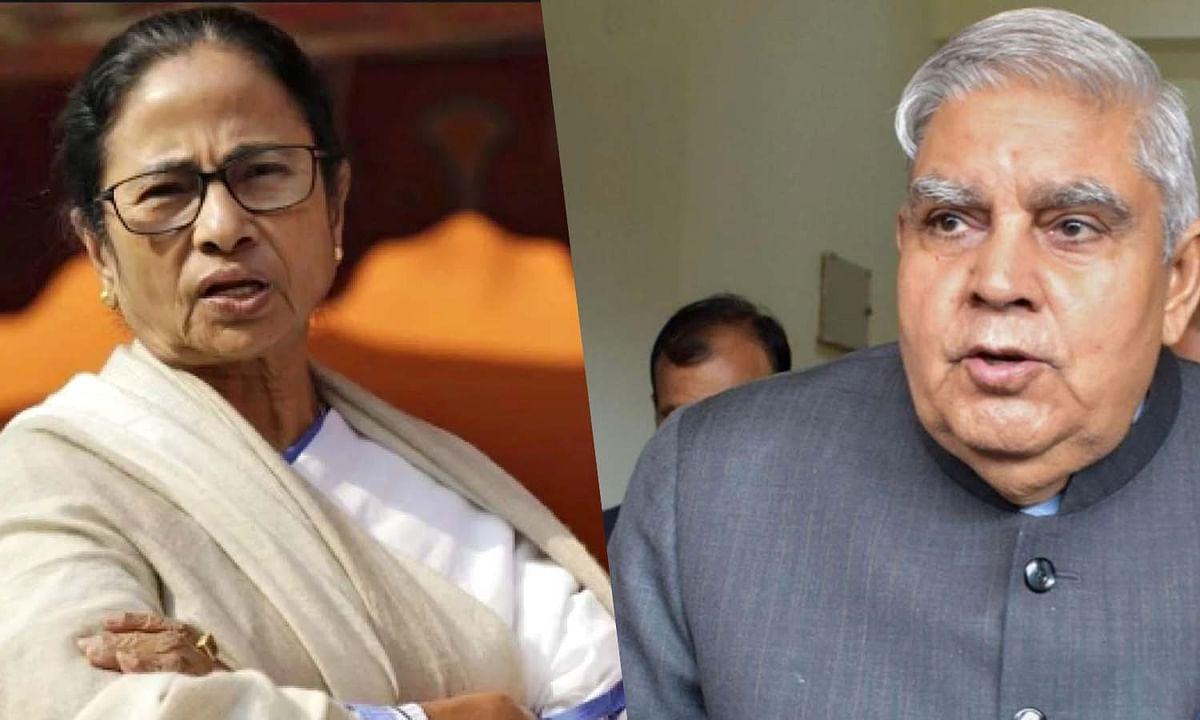 कोरोना संकट की घड़ी में बंगाल की CM व राज्यपाल के बीच तनातनी