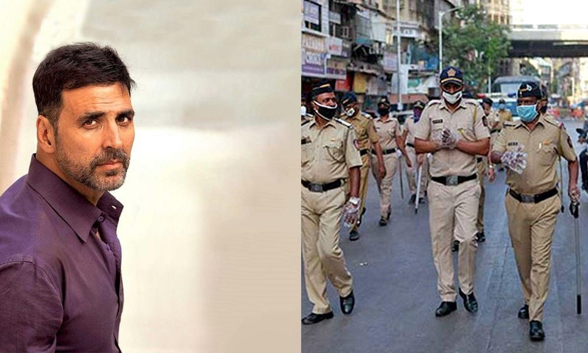 फिर मदद के लिए आगे आए अक्षय कुमार, पुलिस को दिए 1000 रिस्ट बैंड