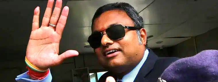 Karti Chidambaram gets permission from Supreme Court to withdraw 10 crores