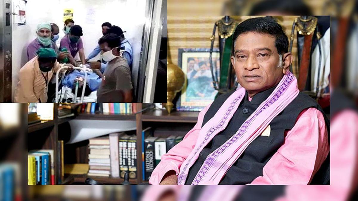 कांग्रेस प्रमुख अजीत जोगी की तबियत में कोई सुधार नहीं