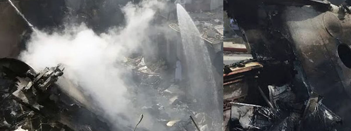 3 crore rupees found in crashed plane debris in Pakistan