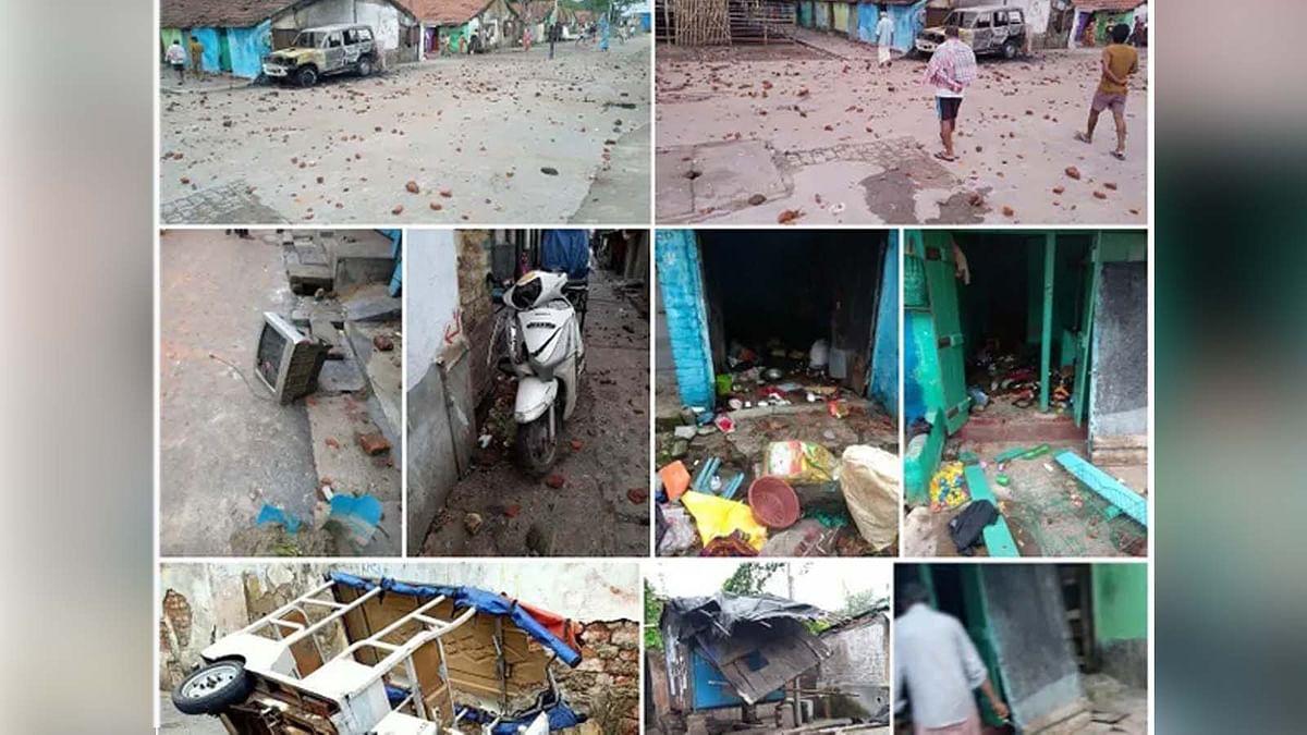 पश्चिम बंगाल में भड़की हिंसा: धारा 144 लागू- हिरासत में 37 लोग