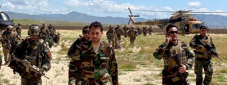अफगानिस्तान में मारे गये 40 से अधिक तालिबानी आतंकवादी