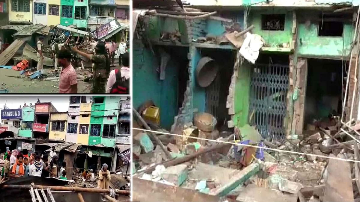 बिहार में जोरदार धमाके से मची चीख पुकार-कई घर हुए क्षतिग्रस्त