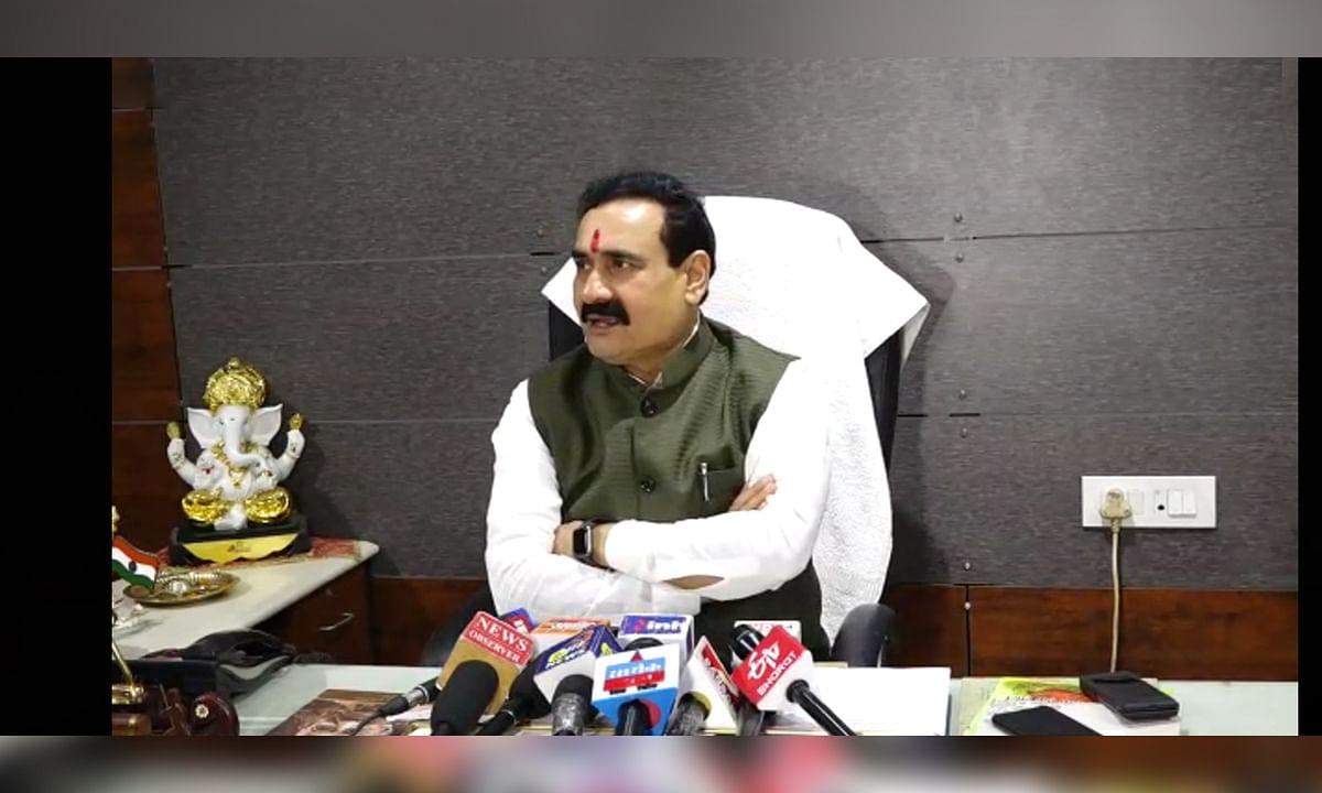 गृह मंत्री डॉ. नरोत्तम मिश्रा ने कालाबाजारी को लेकर दिया बयान