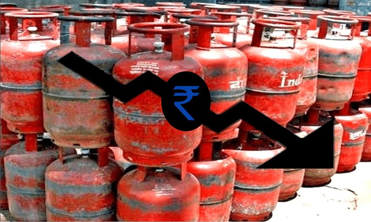 सरकार ने दी गैस सिलेंडर की कीमतों में राहत
