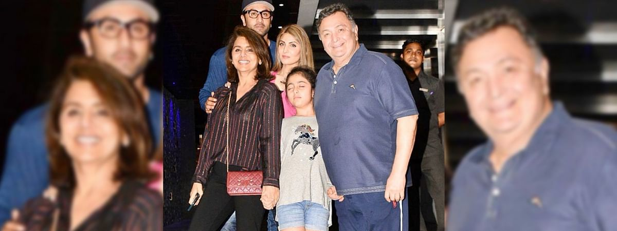 Neetu Kapoor Shares Throwback Pic With Rishi Kapoor