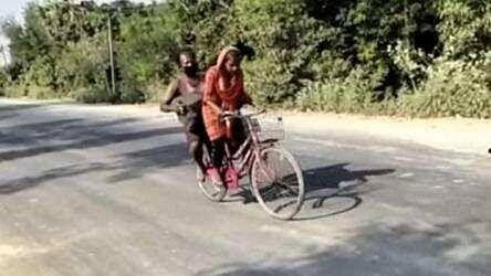बिहार की बेटी साइकिल गर्ल ज्योति पर बनेगी फिल्म, इवांका ने की तारीफ