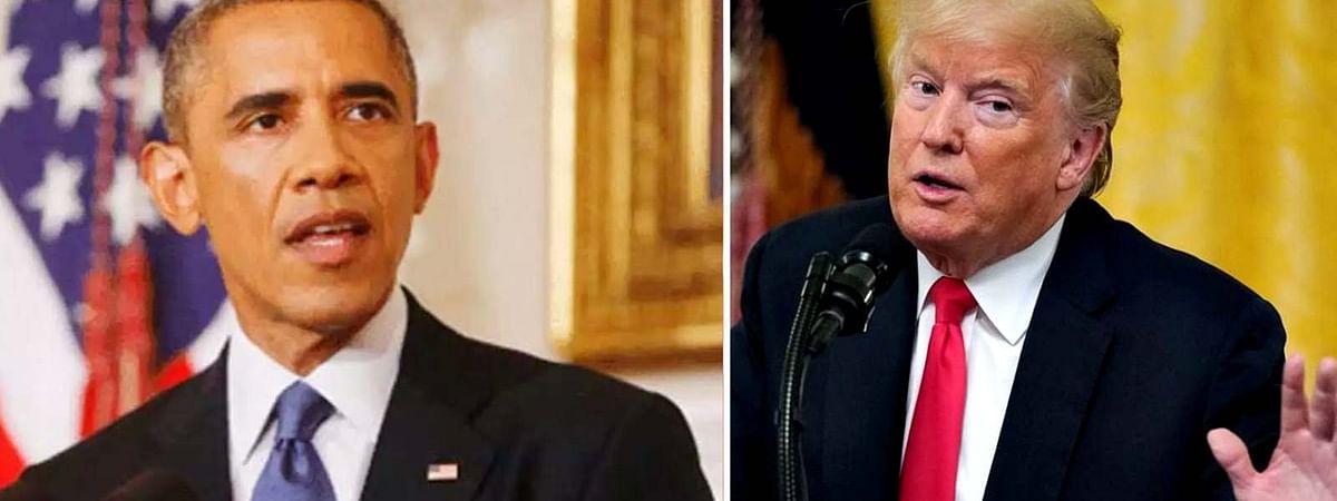कोरोना की तबाही से बिफरे ओबामा, ट्रम्प बोले-वे 'अयोग्य राष्ट्रपति'