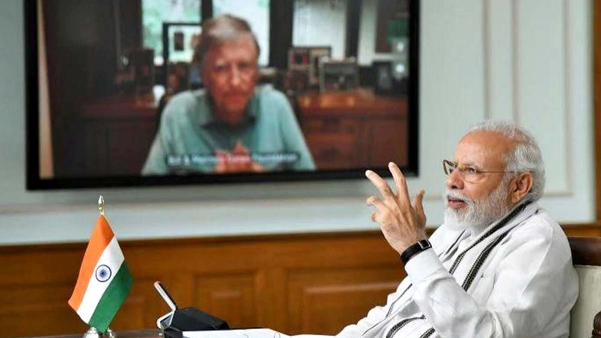 PM नरेंद्र मोदी ने बिल गेट्स से की चर्चा और मांगे सुझाव