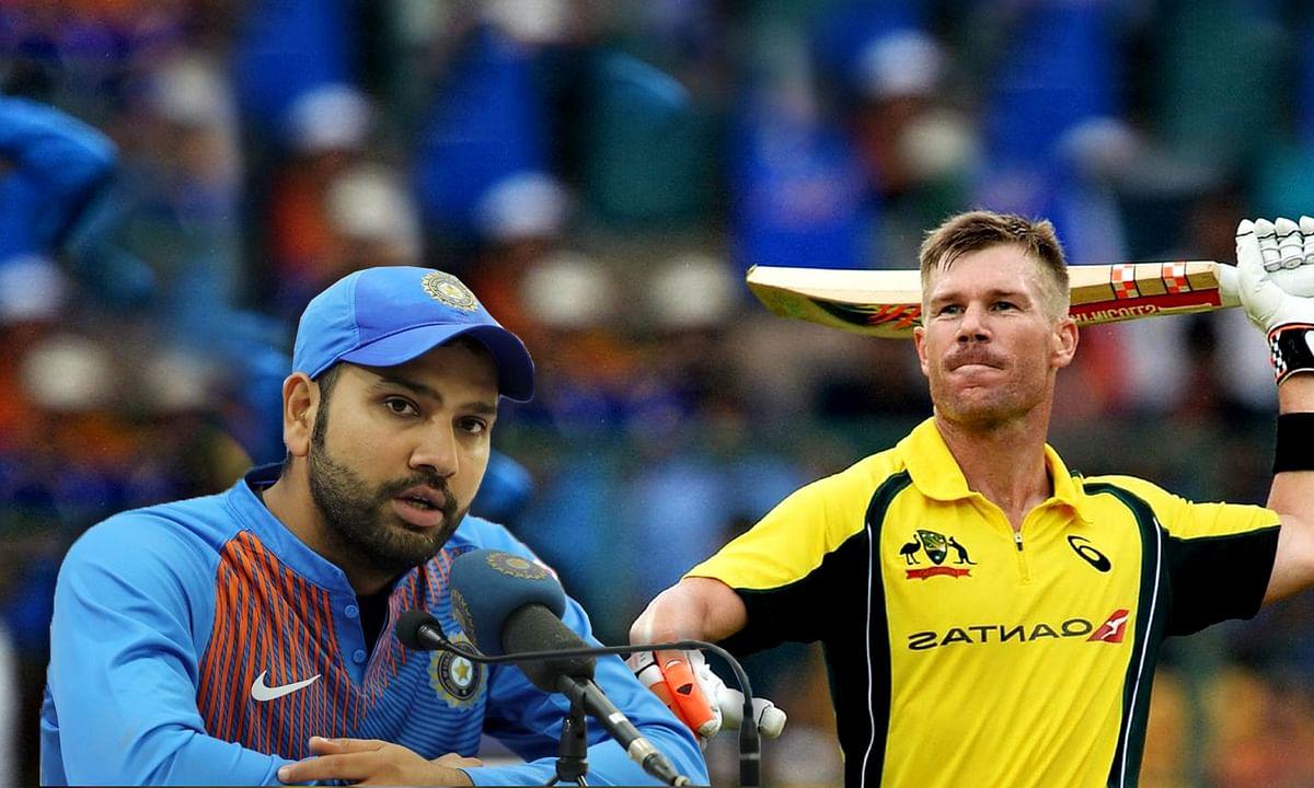 रोहित ने वॉर्नर को कहा क्रिकेटर को इस उम्र में संन्यास ले लेना चाहिए