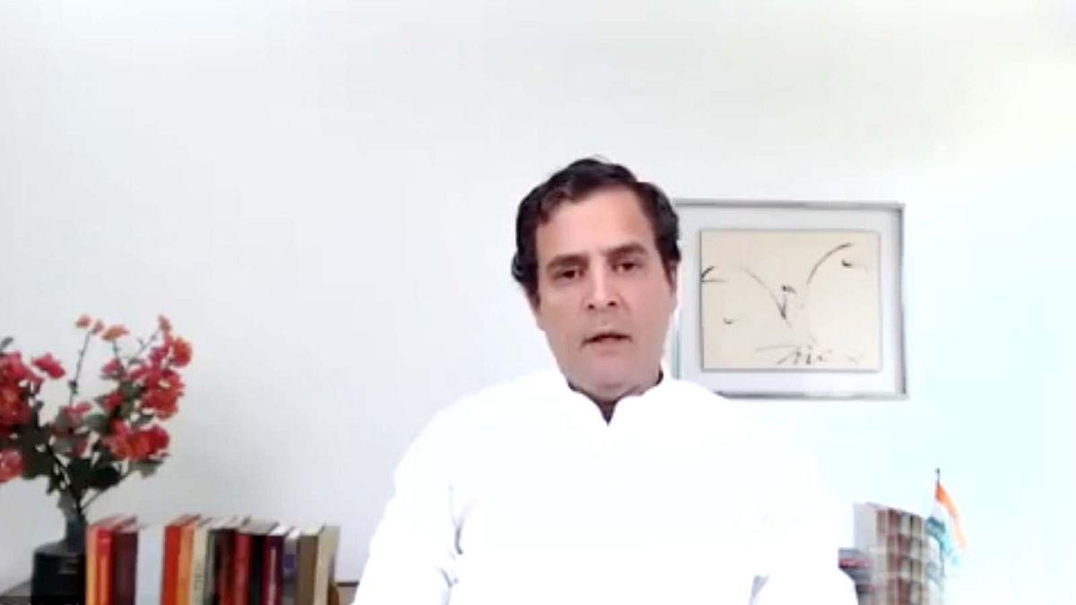 देश के आर्थिक हालात व राहत पैकेज पर राहुल ने मोदी से की ये अपील