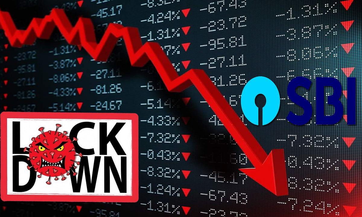 SBI का कहना लॉकडाउन में निकले घर से तो, गड़बड़ा जाएगी अर्थव्यवस्था