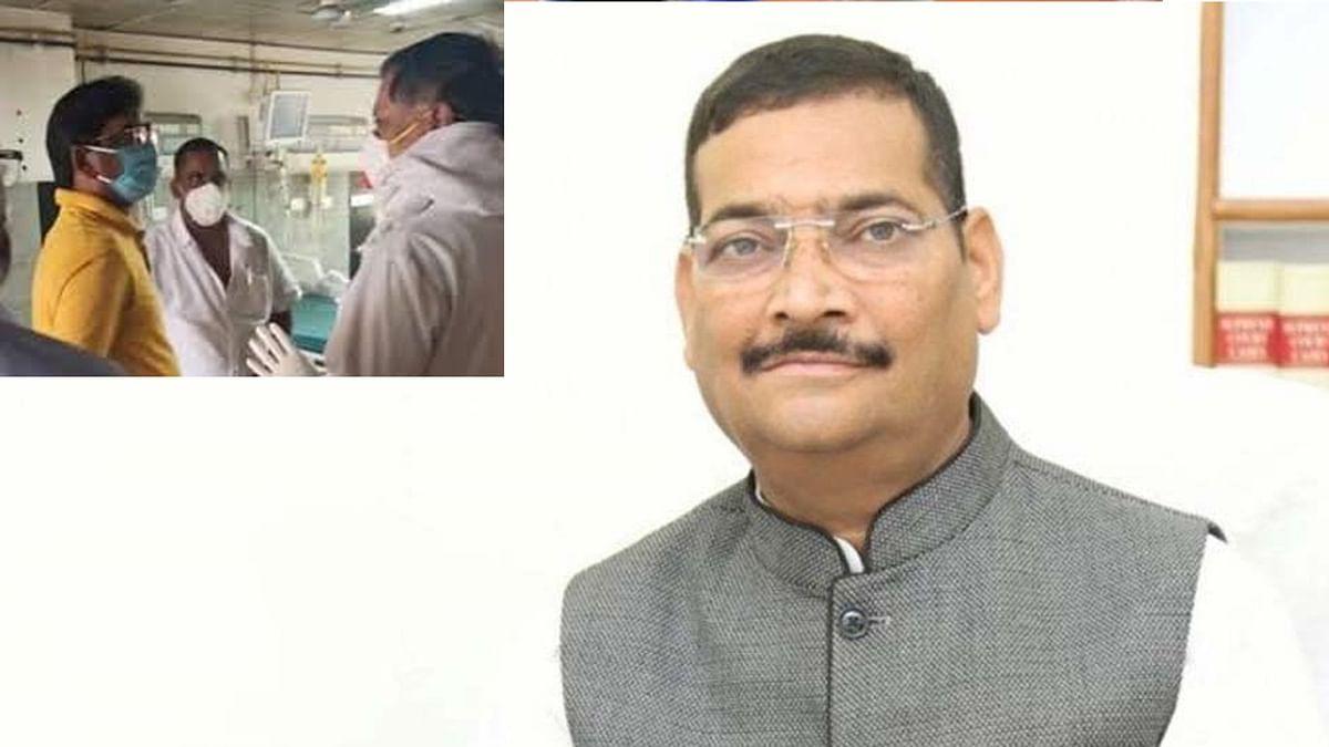 झारखंड: भाजपा अध्यक्ष दीपक प्रकाश को दिल का दौरा, रिम्स में भर्ती