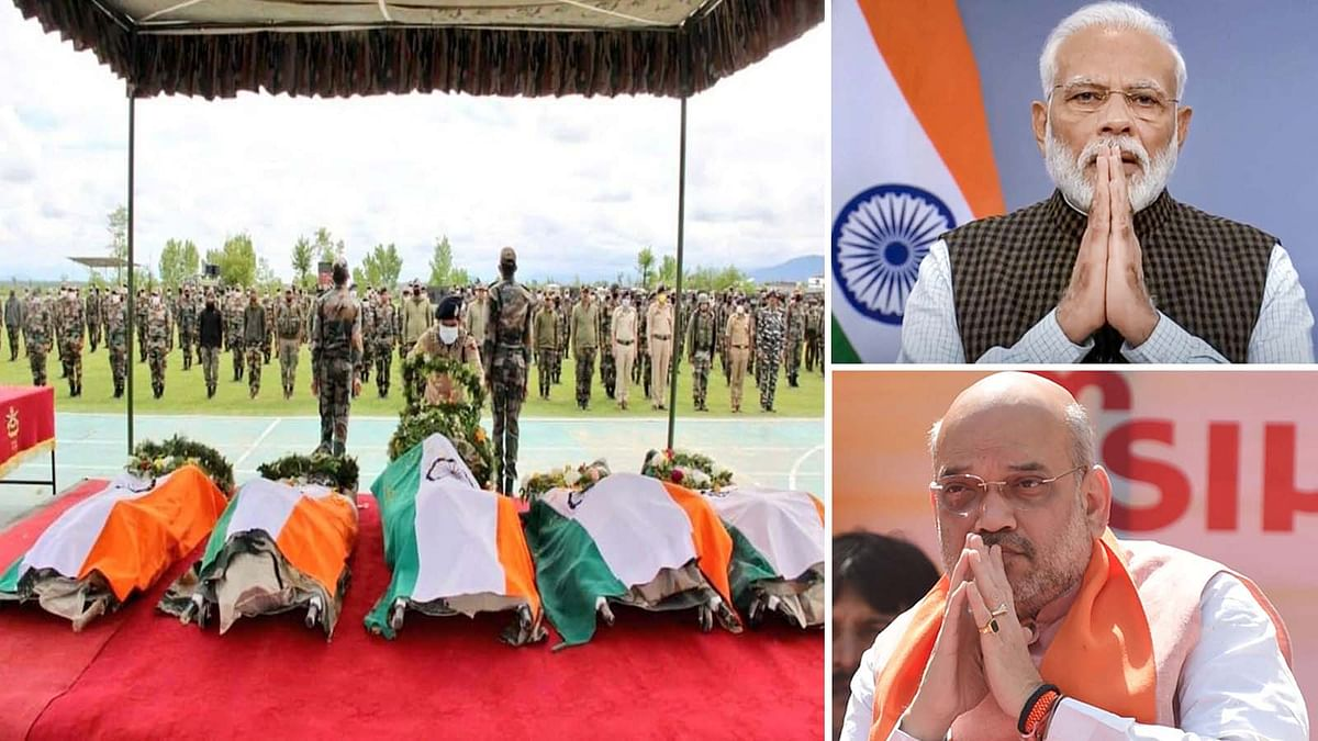हंदवाड़ा में शहीद सैनिकों की बहादुरी का PM समेत कई नेता कर रहे नमन
