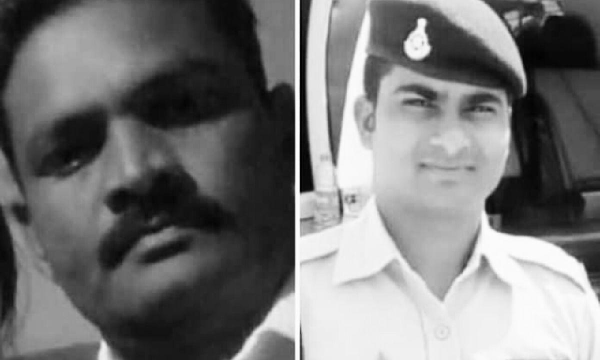 MP: दर्दनाक सड़क हादसे में दो पुलिसकर्मियों की मौत