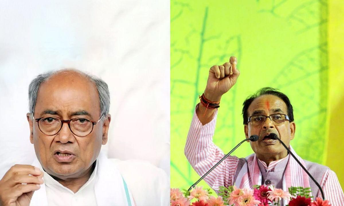 PM मोदी के पक्ष में आए सीएम, दिग्गी पर किया जवाबी हमला