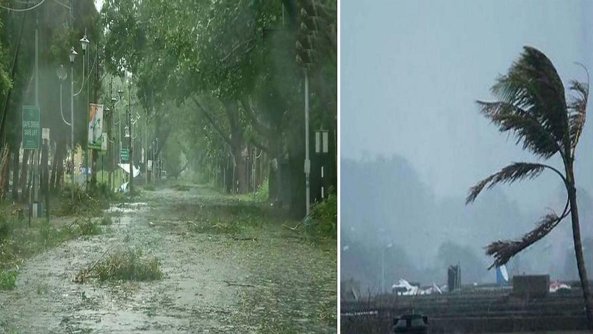 तूफान 'अम्फान' की तबाही शुरू-बंगाल, ओडिशा में तेज आंधी व भारी बारिश