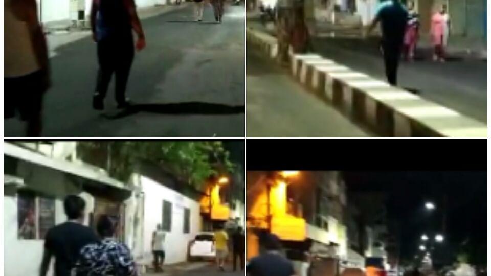 लॉकडाउन नियम को तार-तार करते दिखे राजधानीवासी, वायरल हुआ वीडियो