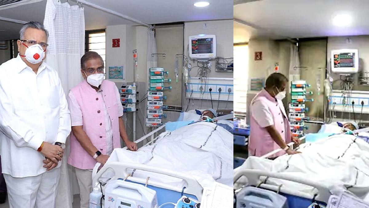 पूर्व सीएम अजीत जोगी की हालत गंभीर, ऑडियो थेरेपी से इलाज जारी