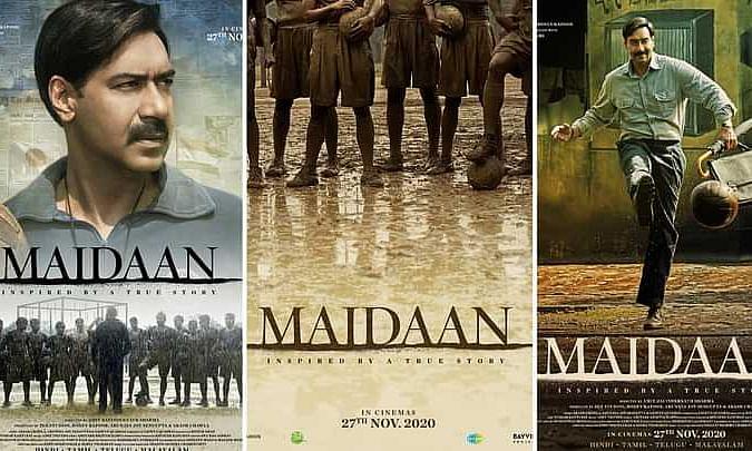अजय देवगन की फिल्म के सेट को किया गया ध्वस्त