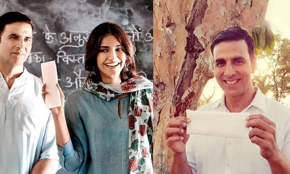 रियल लाइफ में 'पैडमैन' बने अक्षय कुमार, महिलाओं की कर रहे हैं मदद
